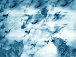 Wolves by Sjanten