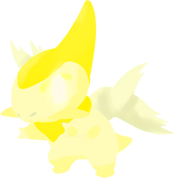 Axew Angel by PokemonBWishesCilan