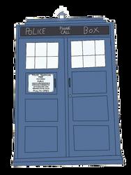 Doctor Who - The TARDIS by PokemonBWishesCilan