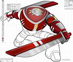 Working on the Kundar Siege Commander! by ErikDePrince