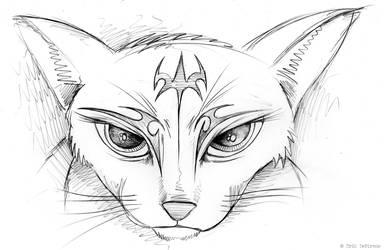 Catconica Sketch by ErikDePrince