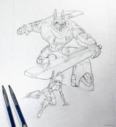 More manga! Been feeling really inspired. by ErikDePrince