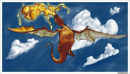 Rearing Dragon by mmiller8
