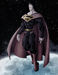 Superman redesign by TedKimArt