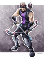 Hawkeye by TedKimArt