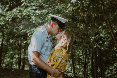 summer kisses with my sailor by fotomademoiselle