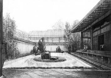 Daitokuji Temple - Japan by kris-burgos