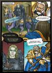 Arthas Menethil vs Uther Lightbringer by Gelorum