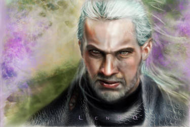Geralt by LenKQ