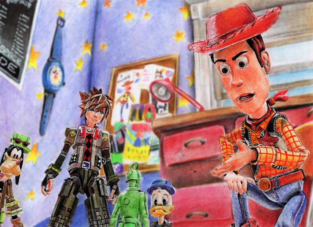 Kingdom Hearts 3 Toy Story World Scanned By Tandaanniyopogiako