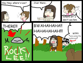Where is Rock Lee? by Freakin-WhatTheHeck