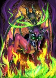 Maleficent Pinup by Yamamoto1003