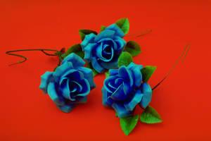blue roses by blackaller