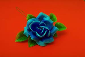 Blue Rose by blackaller