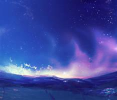 Land - Night by PkingSora