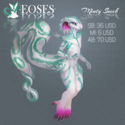 CS Eoses - Minty Sneck - Auction - CLOSED by PkingSora
