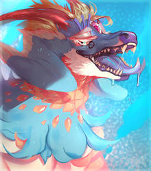 Art Fight - Eoses-Boiled sweet - Protazky by PkingSora