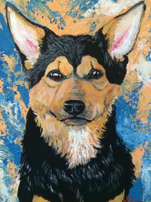 Pet Print! Meshak by Sierras-LANE