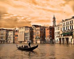 Golden Venice by Hestefotograf