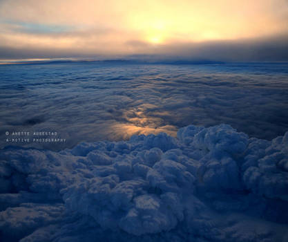 Above The Clouds by Hestefotograf
