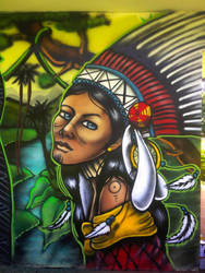 gabz native american girl by sealofgod