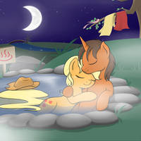 Commission: Hot Spring by TheParagon