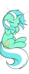 Commission: Lyra Pillow Back by TheParagon
