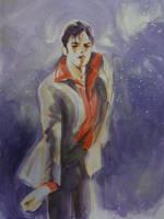 MJ in Purple by HitomiOsanai