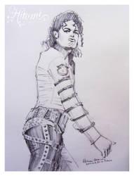 Michael Jackson Bad  o3 by HitomiOsanai