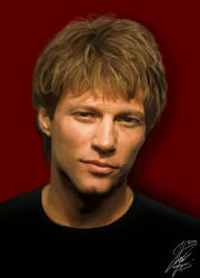 Jon Bon Jovi by ShiroLuna