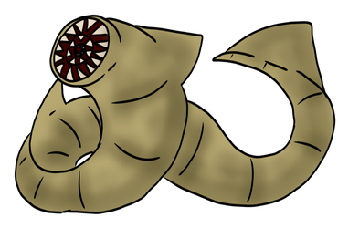 Sand Wyrm by RRDinoProductions
