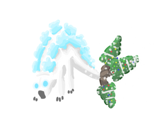 Snowflake Stego by RRDinoProductions