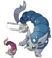 questional creature contestant by G-FauxPokemon