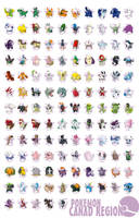 Canad Pokedex poster by G-FauxPokemon