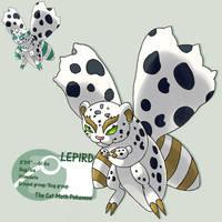 mean montrous mammal moth by G-FauxPokemon