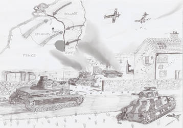 Fall Gelb: Battle of Belgium by Electricfox5