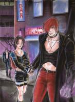 Iori and Yuri by ClAyMoRe--MiRiA
