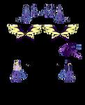 Lexiss (DarkDragon) Reference by DarkDragonRoar