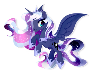 Princess Luna by GLaSTALINKA