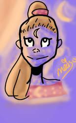 galaxy girl 3  by Mai-Saad