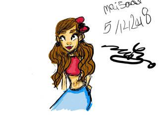 girl by Mai-Saad