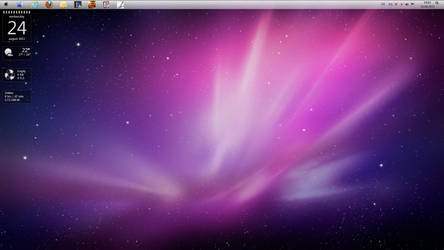 New Desktop - August 2011 by Ibotsu