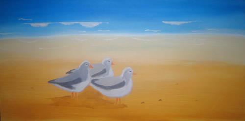 Seagulls by Ibotsu