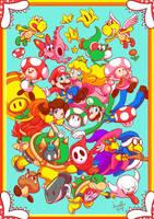 MarioWorld by brunotsu