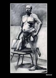 Rennie Behrend Fig Draw 2010 by shamanalixxx
