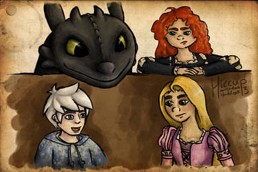 Merida Disapproves by Hiccup by MagicalyMade