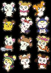 Ham Girls by kukimao
