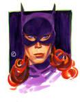 Bat Woman 50's era by riq