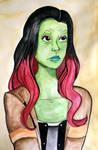 Gamora by kaouahana