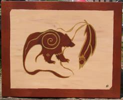spirit bear by innishfael